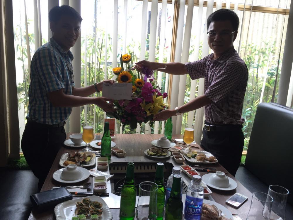 Ảnh: Sinh nhật anh Phùng Văn Đức, Nhân viên kinh doanh, ngày 11/07/2016