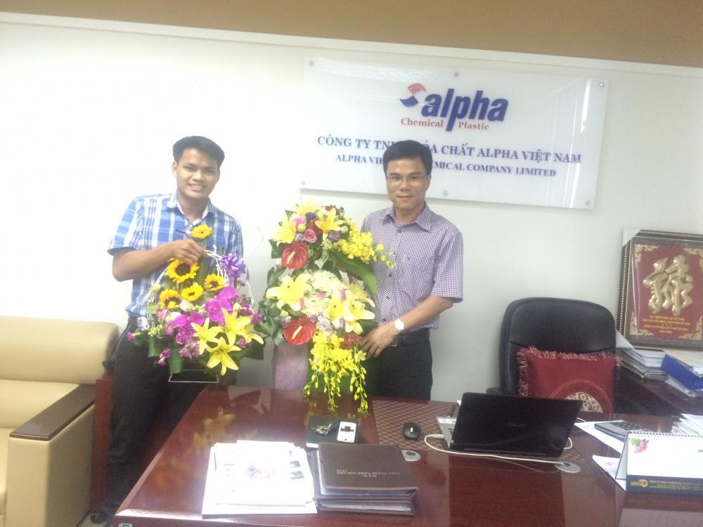 Ảnh: Sinh nhật anh Lâm Viết Bình, Chủ tịch HĐQT kiêm Giám đốc công ty, Ngày 12/07/2016